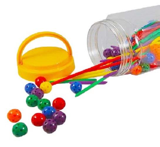 ลูกบอลและแท่งเรียนรู้เรขาคณิต
