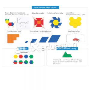 Pattern block_ตัวอย่างกิจกรรม