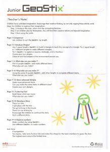 Teacher Note-Junior Geostix